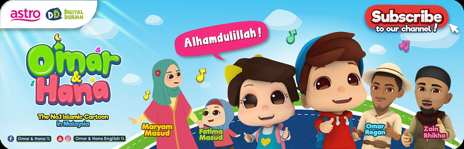 Didi and Friend Mewarna Bermanfaat Omar Dan Hana Coloring Pages Www Picswe Net