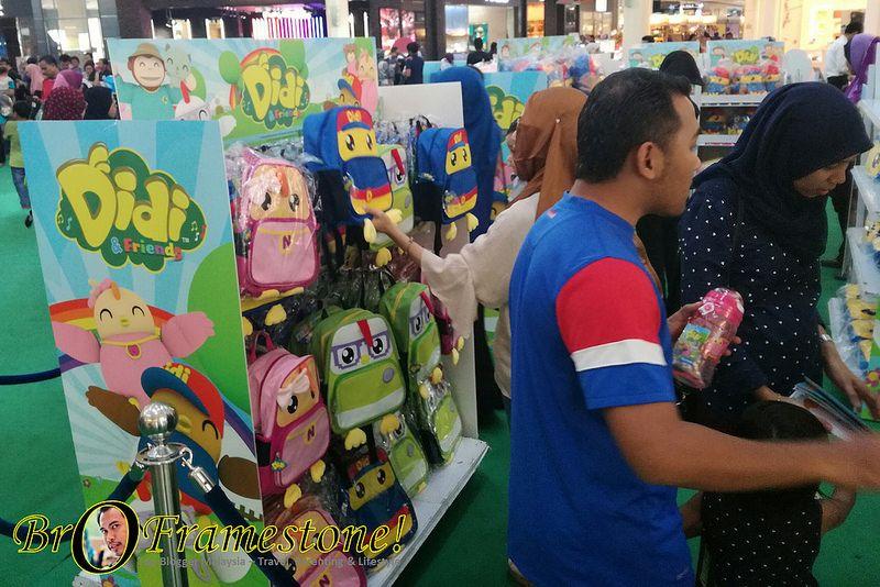 Didi and Friend Mewarna Terbaik Mini Karnival Didi Friends Di Alamanda Putrajaya