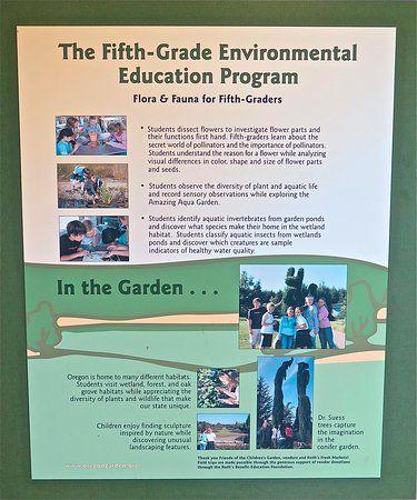 oregon garden school excursion poster