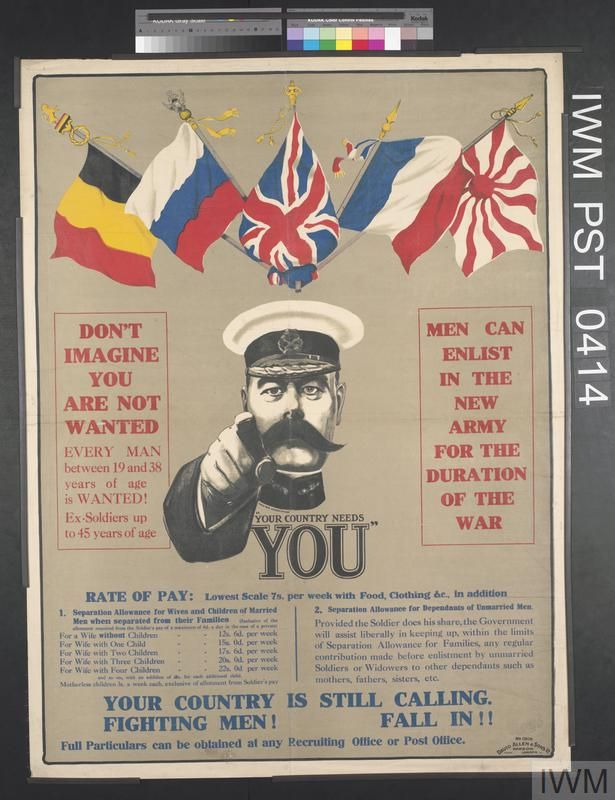 Family Day Poster Berguna Your Country Needs You Imperial War Museums
