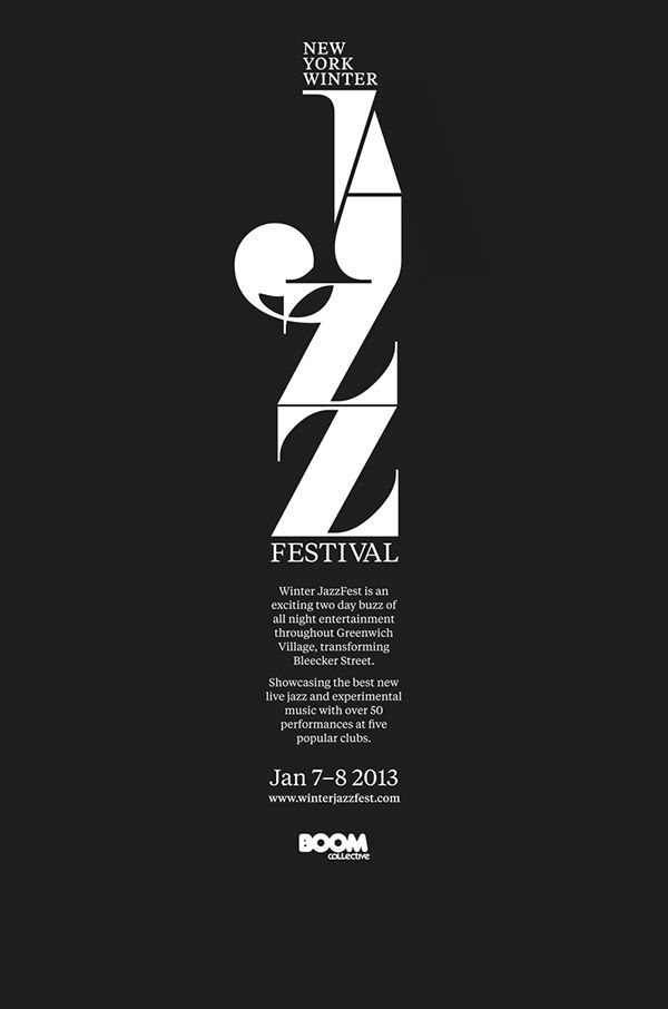 Festival Poster Menarik Best Poster Winter Jazz Festival Posters Images On Designspiration