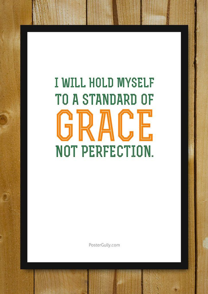 Flat Poster Baik Buy Framed Posters Online Shopping India Grace Not Perfection