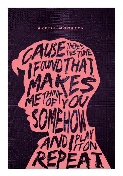 Flat Poster Bernilai Arctic Monkeys Poster 3 Wall Art Artist Vijay Sarathy Postergully