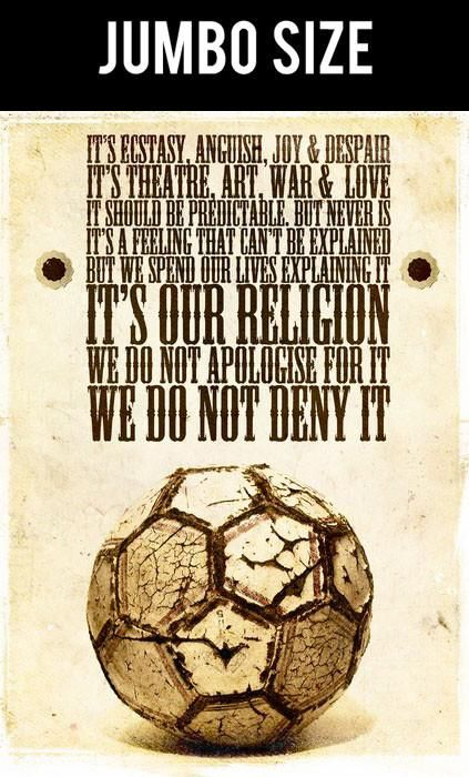 poster online shopping india football is religion jumbo poster postergully