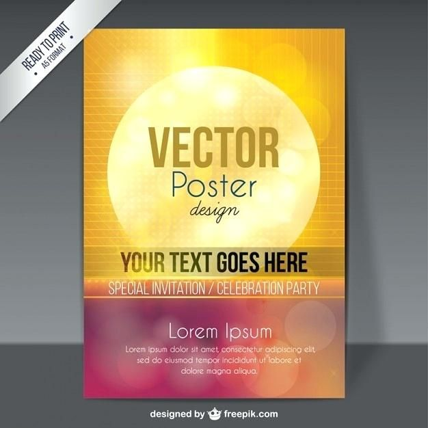 poster template free download poster template in style vector free download poster presentation template free download