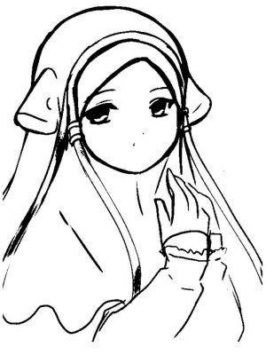 Gambar Ana Muslim Untuk Mewarna Baik Download Cepat Bermacam Contoh Gambar Mewarna Kartun Ana Muslim Yang