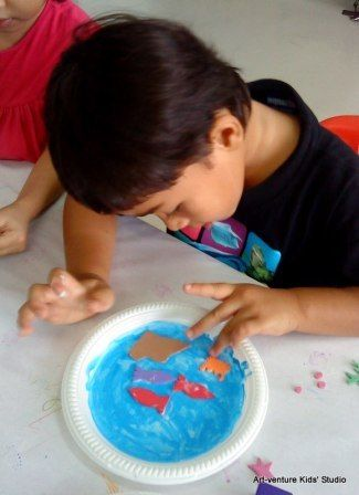 Gambar Hidupan Laut Untuk Mewarna Bernilai Belajar Melukis Untuk Kanak Kanak Prasekolah Art Venture Kids