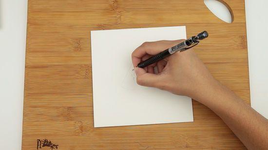 metode 2 melukis dengan pensil cat air