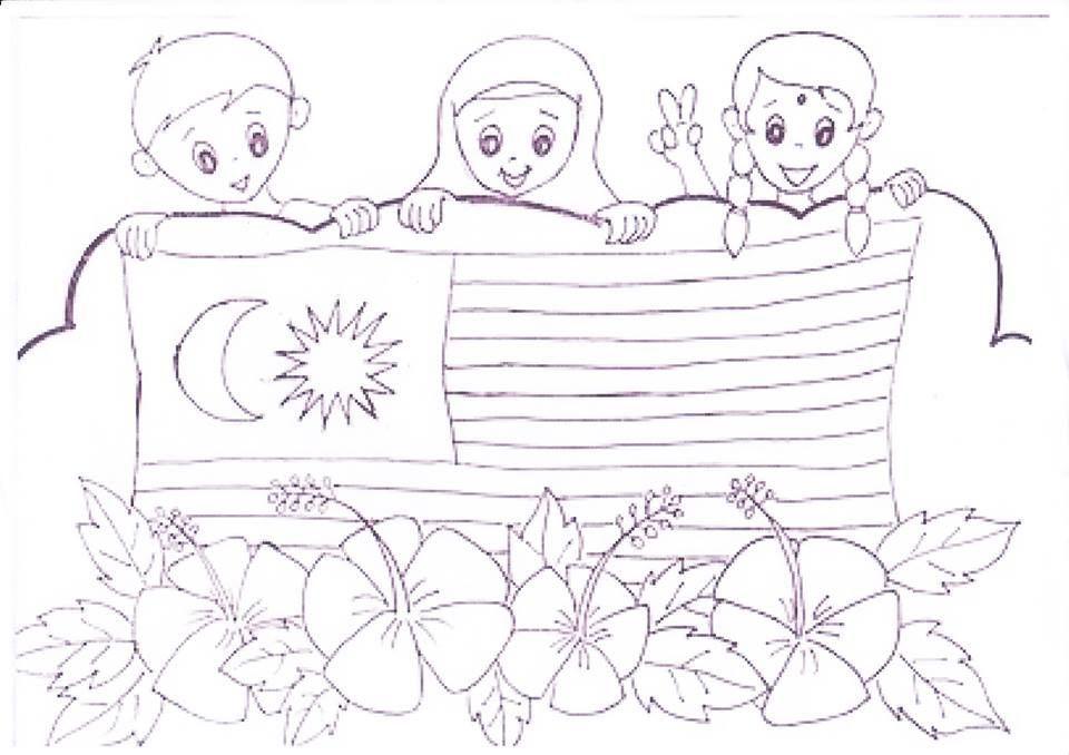 Download Gambar Mewarna Bendera Yang Terbaik Dan Boleh Di Perolehi Dengan Segera Pendidikan Abad Ke 21