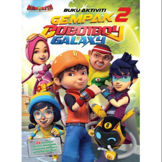 Gambar Mewarna Boboiboy Galaxy Bermanfaat Boboiboy Buku Aktiviti Kembara Angkasa Boboiboy Galaxy 3 Shopee