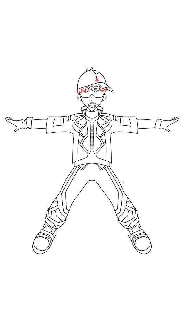 16 Gambar Mewarnai Kartun Boboiboy Paling Populer Lingkar Png