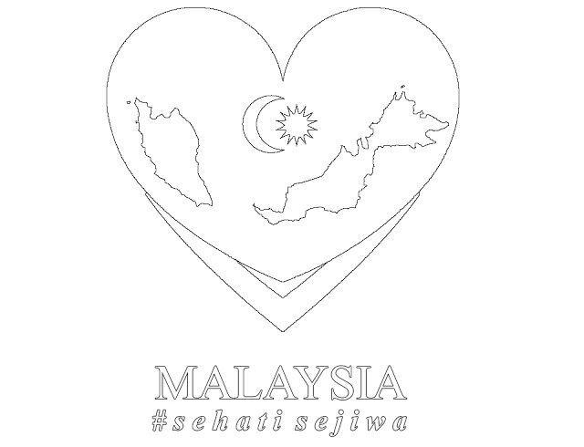 gambar mewarna hari merdeka penting gambar mewarna hari kemerdekaan malaysia 2016 v warna of gambar mewarna hari merdeka jpg