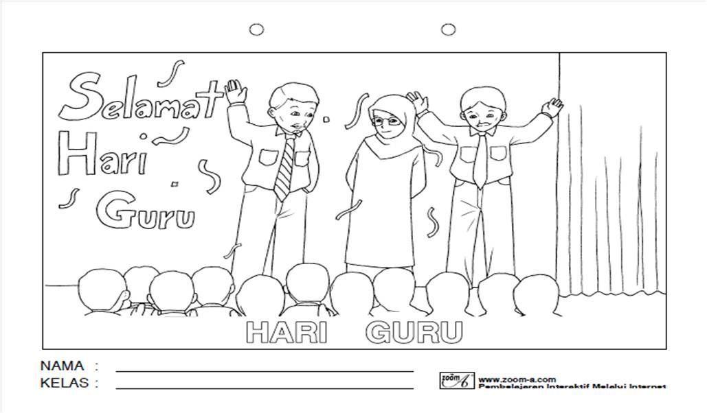 Gambar Mewarna Kemerdekaan Bernilai Download Selamat Hari Guru Mewarna Yang Bermanfaat Dan Boleh Di