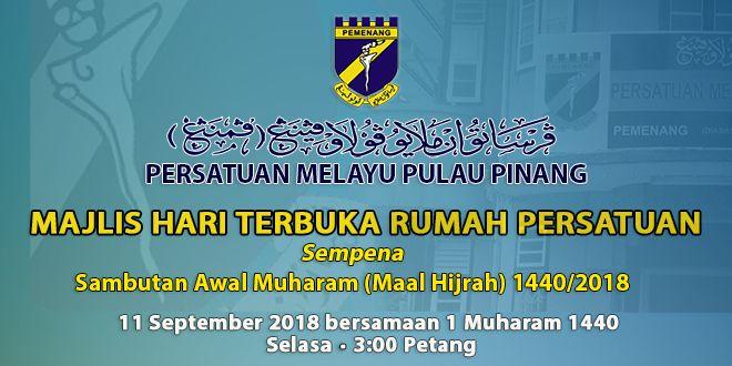 Gambar Mewarna Maal Hijrah Berguna Persatuan Melayu Pulau Pinang Pemenang Meneruskan Pembinaan Jati