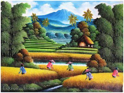 gallery for muat turun bermacam contoh gambar mewarna pemandangan kampung yang berguna dan boleh di lihat dengan mudah