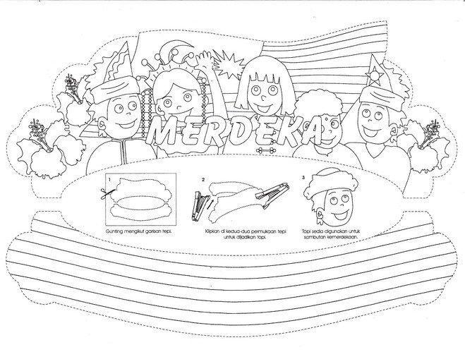 Gambar Pertandingan Mewarna Kanak-kanak Hebat Jom Download Poster Mewarna Hari Merdeka Yang Power Dan Boleh Di