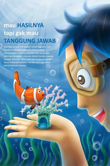 Gambar Poster Lingkungan Bernilai Wahyu Dwi Aprianto Desain Poster