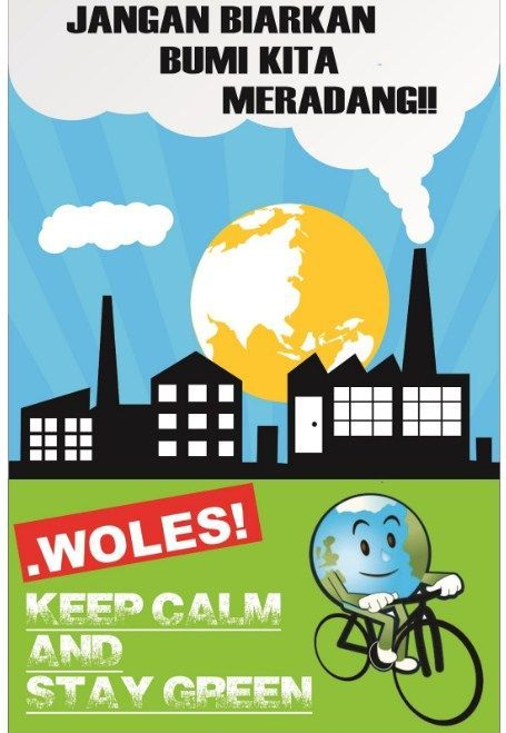 koleksi gambar poster lingkungan hidup paling berkesan koleksi