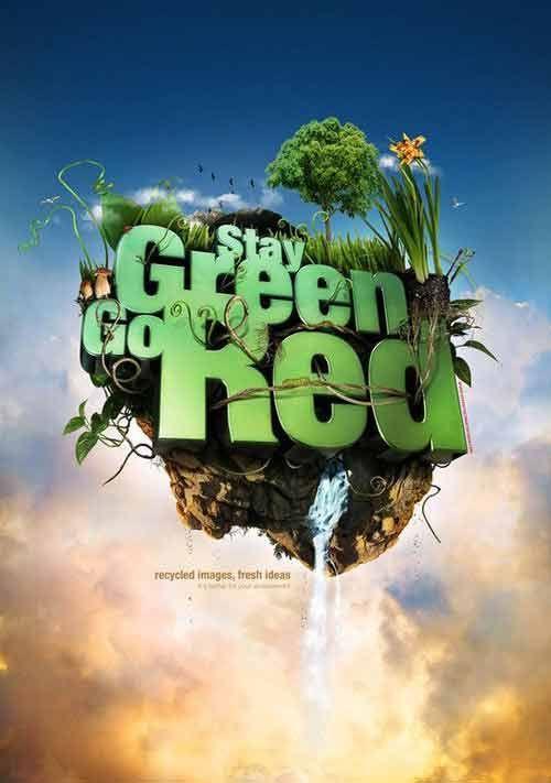 contoh poster lingkungan hidup sehat bernilai 50 contoh poster slogan lingkungan hidup go green grafis media