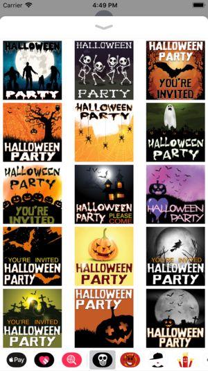halloween party invites 4