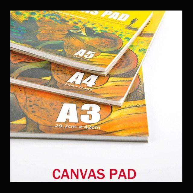 Harga Kertas Lukisan Baik 10 Lembar Pack Akrilik Lukisan Minyak Kanvas Pad Kertas Buku 280g