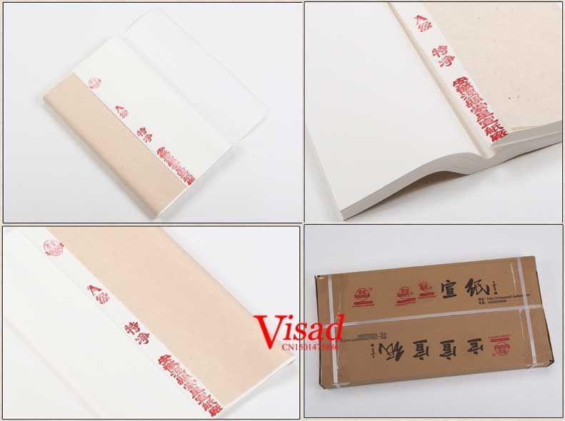 cina xuan kertas untuk kaligrafi lukisan tangan membuat baku beras kertas putih polos di lukisan kertas dari kantor perlengkapan sekolah aliexpress com