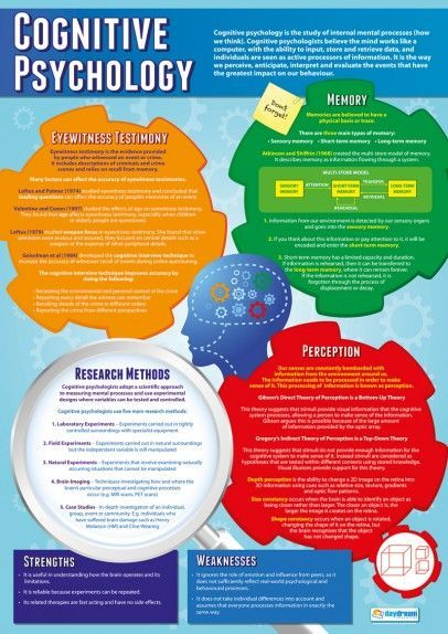 cognitive psychology poster google search