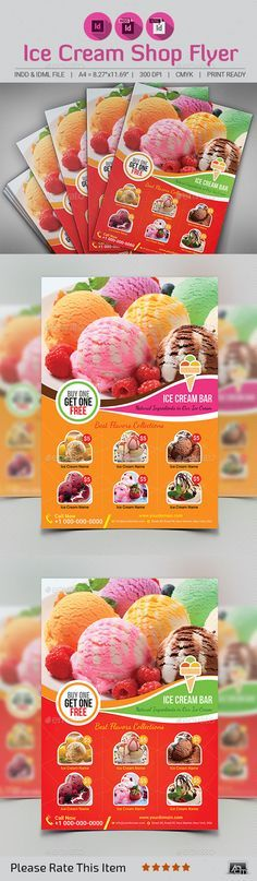 Ice Cream Poster Baik Ice Cream Flyer Bakery Flyers Poster Templates 0d Wallpapers 46