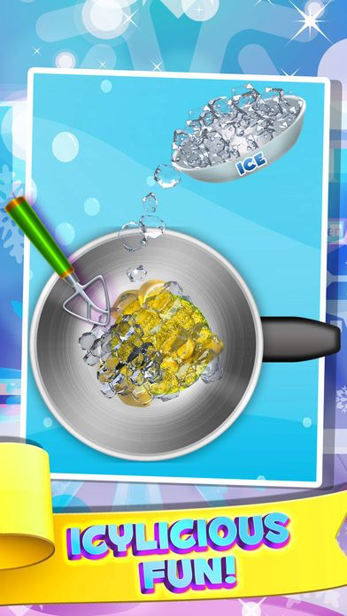 Ice Cream Poster Terbaik Dessert Slushy Maker Food Cooking Game Make Candy Drink for Ice
