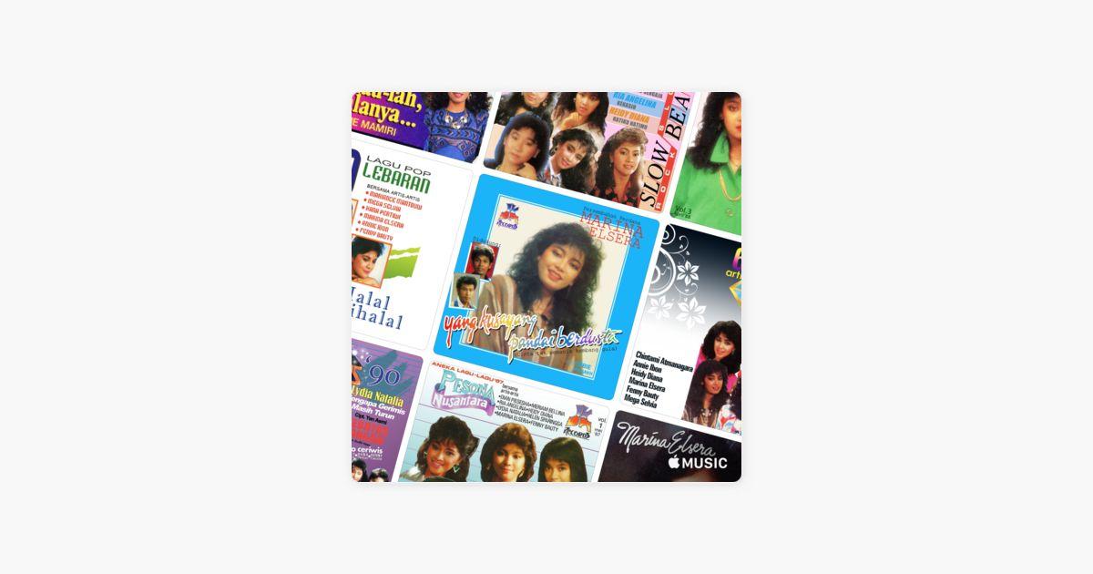 Iklan Poster Baik Marina Elsera Essentials Oleh Apple Music Musik Indonesia Di Apple
