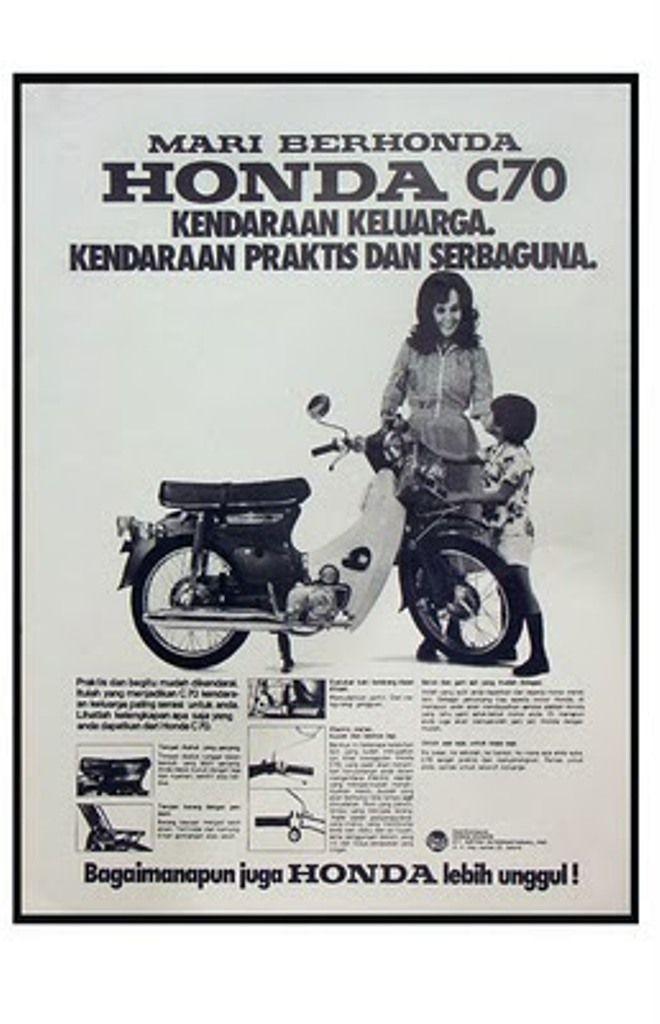 Iklan Poster Menarik Iklan Honda Jadul 21 Indonesian Vintage Honda Bikes Honda