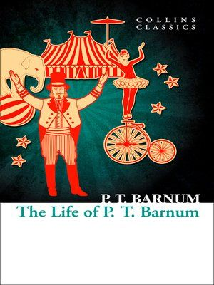 cover image of the life of p t barnum