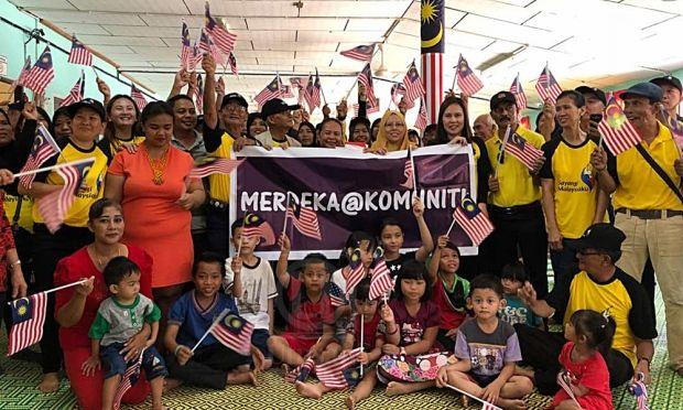 Jalur Gemilang Mewarna Terhebat Galak Kibar Jalur Gemilang Sebagai Tanda Patriotik Sarawak