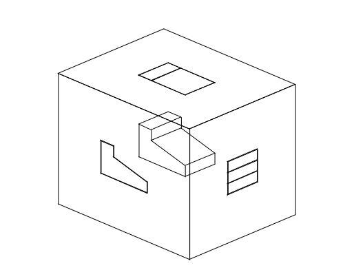 ortografik perkataan merujuk kepada sistem unjuran yang ia digunakan untuk mendapatkan lukisan pandangan pelbagai berdasarkan model kotak kaca