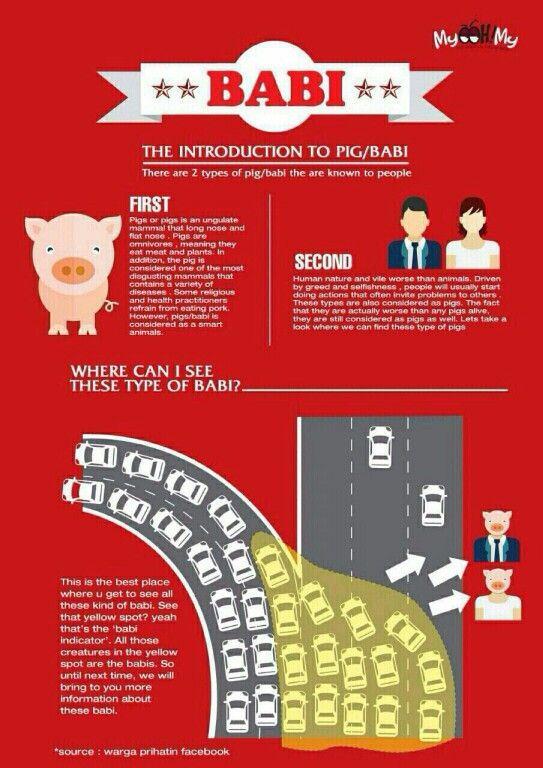 Jenis Poster Baik Satu Jenis Babi Selamat Menjelang Kemacetan Konferensi asia Afrika