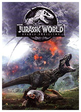 jurassic world fallen kingdom dvd polish import