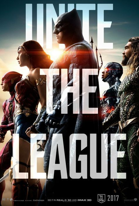 poster from justice league