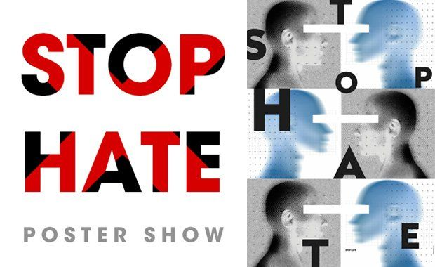 Kalimat Poster Bernilai Stop Hate Poster Show Anti Violence Poster Competition Contest