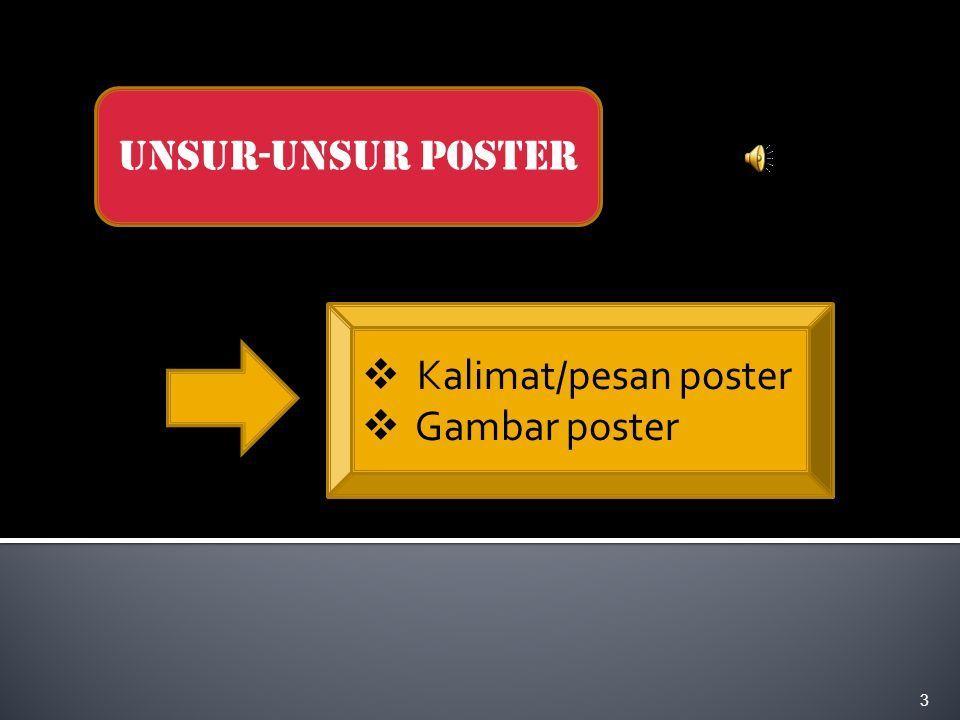 contoh poster bahasa inggris menarik pelajaran bahasa indonesia ppt download