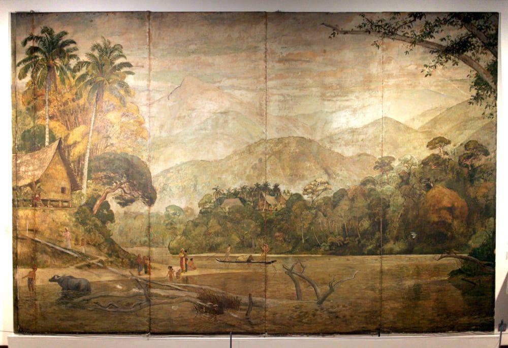 Kertas Kerja Lukisan Mural Bermanfaat Pameran Seni Negaraku