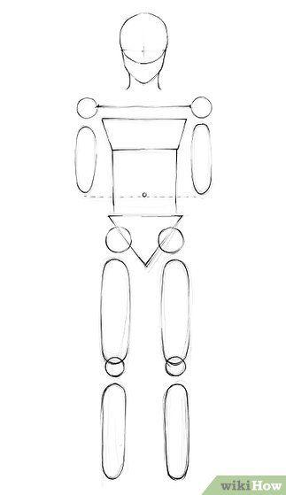 Kertas Mewarna Merdeka Penting 3 Cara Untuk Menggambar orang Wikihow