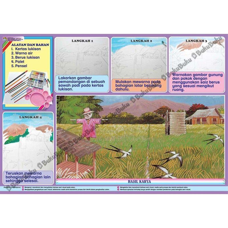 lukisan mewarna pemandangan meletup muat turun kertas mewarna pemandangan kampung yang gempak dan boleh of senarai