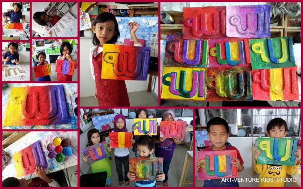 Kertas Mewarna Ramadhan Hebat Projects Art Venture Kids Studio