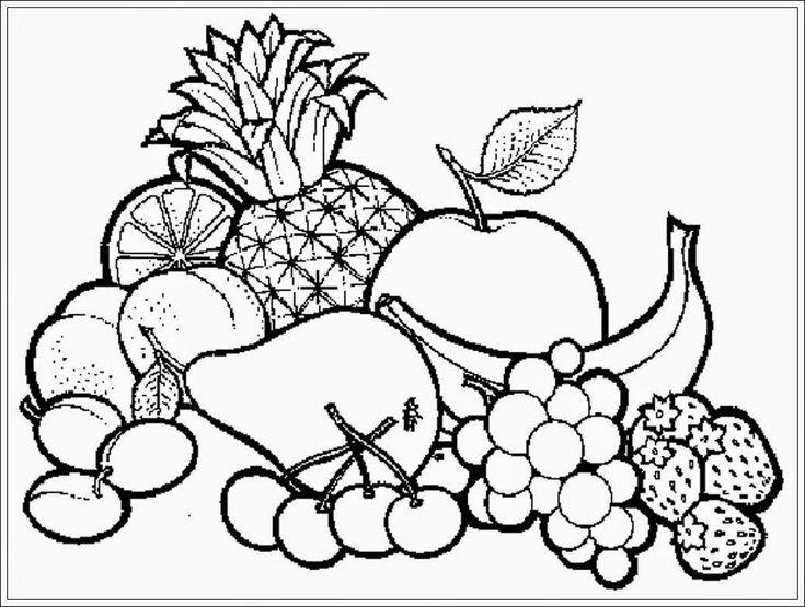 kertas lukisan mewarna ramadhan power belajar mewarnai gambar buah buahan mewarnai gambar buah buahan jpg 735x555