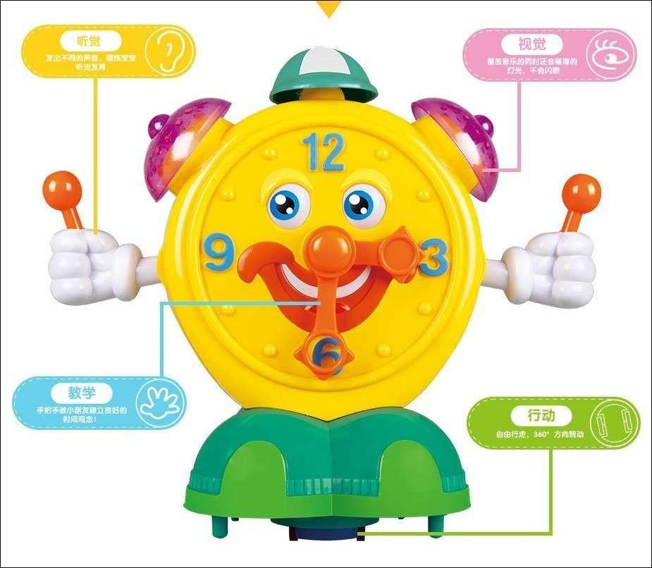 kertas kartun terunik a mainan edukasi kartun elektrik pintar jam alarm ringan musik
