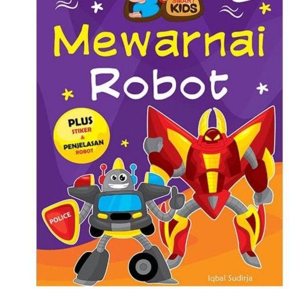 Kertas Mewarna Robot Menarik Buku Gambar Anak Temukan Harga Dan Penawaran Perlengkapan