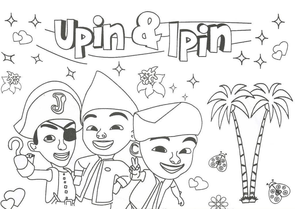 Kertas Mewarna Upin Ipin Hebat Download Himpunan Contoh Gambar Kartun Upin Ipin Untuk Mewarna Yang