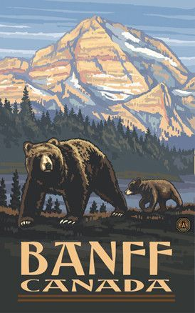 Kodiak Poster Baik Pin by Lindsey Schneider On New House Vintage National Park