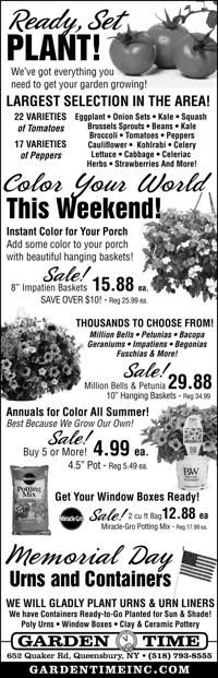 garden time ad from 2019 05 24