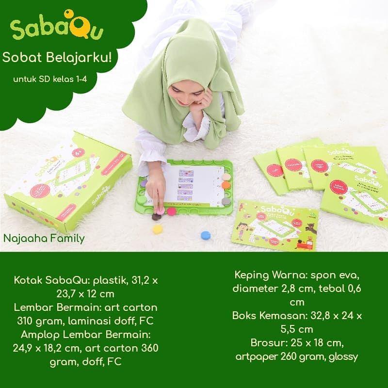 sabaqu sabaqu ini disesuaikan dengan kurikulum anak sd kelas 1 4 kl fl buat usia 3 12 tahun kl sabaqu untuk usia 6 kl ada yg punya anak usia sd